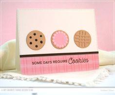 Cookie Crumbs Stamp Set, You're the Milk to My Cookie Die-namics, Blueprints 13 Die-namics, Blueprints 25 Die-namics - Debbie Olson  #mftstamps