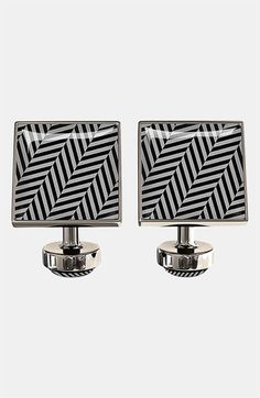 Würkin Stiffs Herringbone Square Cuff Links | Nordstrom