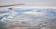 USA - Park Narodowy Wrangla-Świętego Eliasza, lodowiec Malaspina