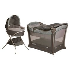 Graco Day-2-Night Sleep System - Ardmore  -  Love this set and this color/pattern is so much better than the one they have at Babies R Us