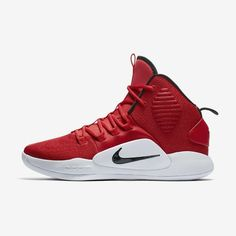 pretty nice d8faf 6d33e Nike Hyperdunk X TB Women University Red/White/Black #nike #nikeshoes #