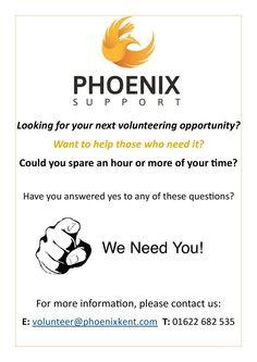 Looking to start #volunteering? Contact us today! https://www.facebook.com/Phoenix.Support22?ref=hl… #volunteer #support #Phoenix #Startup