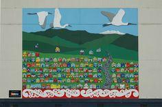 raetihi School Wallworthy mural