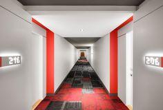 Design condos Hall Lobby Projet Cité Cosmo | ADESIGN