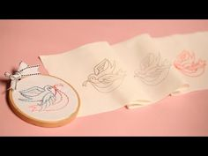 Three Ways to Transfer Embroidery Patterns || KIN DIY