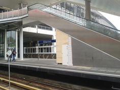 Metrostation Kralingse Zoom. Bouw parkeergarage.