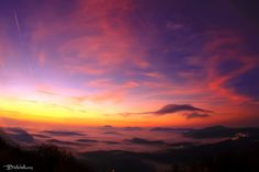 Above the mist into the twilight by Bill Metallinos on 500px
