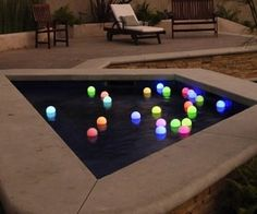 P&LED Set of 6 Led 3 Inch Mood Light Garden Deco Balls (Light Up Orbs),Floating Pool Lights,Ball Lights for Swimming Pool,Garden and Party Decor,with Two of Spare Replacement Batteries Next Garden, Floating Lights, Garden Deco, Water Features In The Garden, Mood Light, Light Art, Outdoor Furniture Sets, Outdoor Decor, Gardens