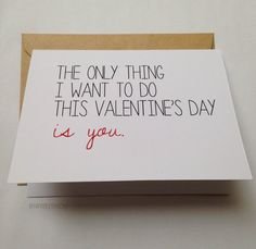 dirty valentines day cards for him