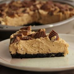 The Growing Foodie: Sassy Sweets: Peanut Butter Pie