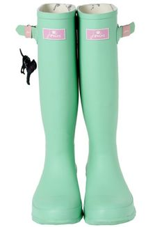 Western Chief Brown & Teal Sassy Plaid Rain Boot | My Style ...