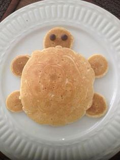 Tortuga Food Art For Kids, Fun Snacks For Kids, Cute Food, Good Food, Yummy Food, Baby Food Recipes, Snack Recipes, Cooking Recipes, Toddler Meals