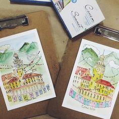 ПРОГРАММА SUNART  У любителей творческих мастер-классов будет возможность познакомиться и попасть на мк к замечательному дизайнеру и иллюстратору - Елизавете Блюр! Она научит рисовать очаровательные открытки акварелью и круто разрисовывать морские камушки!!!! ну и конечно же свои творения можно будет забрать себе))  ЕДУ НА SUNART: sunartclub.ru  #sunart #sunart2016 #веселовка #творчество #санарт