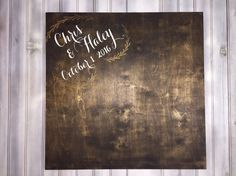 A personal favorite from my Etsy shop https://www.etsy.com/listing/482068927/wedding-guest-book-alternative-any-color
