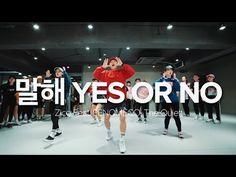 말해 Yes Or No - Zico(Feat. PENOMECO, The Quiett) / Junsun Yoo Choreography - YouTube