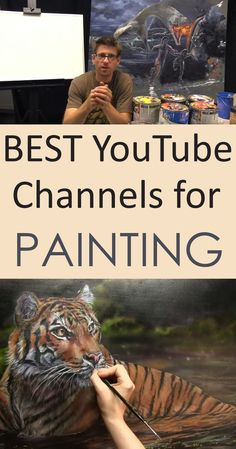 Drawing and painting tutorials by some of the best instructors online. Drawing and painting tutorials by some of the best Painting & Drawing, Canvas Painting Tutorials, Acrylic Painting For Beginners, Music Painting, Acrylic Painting Techniques, Painting Videos, Art Techniques, Matte Painting, Drawing Tips
