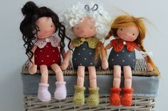 The sweetie in the middle, Kiwi, by North Coast Dolls