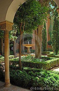Jardines de La Alhambra, Granada ♥ ♥ ♥