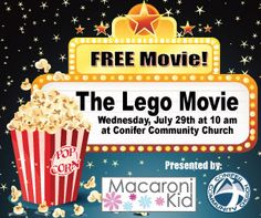 Free Family Movie: LEGO Movie ~ RSVP to Win a Goodie Bag! | Macaroni Kid #MacKid #contest
