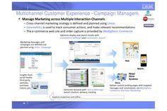 IBM Unica, IBM Coremetrics and IBM Websphere for Campaign Management