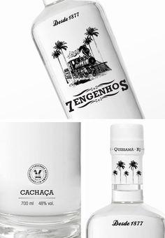 Cachaça 7 Engenhos - Concurso | Competition by Emanuela Pietrobelli, via Behance