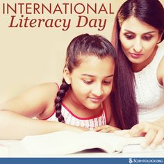 Today we celebrate International Literacy Day to promote literacy as an instrument to empower individuals, communities and societies.