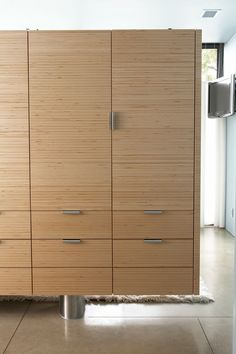 Lake Cabinet and Bed by Min   Day , via Behance