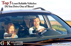 Top 5 Least Reliable Vehicles: Do You Drive One of These?