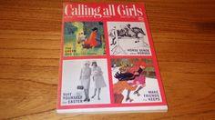 Calling All Girls March 1964 Green God Horse Sense Easter 1960s vintage magazine