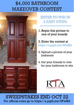 bathroom makeover contest enter to win up to a 4000 bathroom makeover contest ends