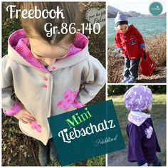 Free Book Mini lovers treasure oversize jacket 86-140