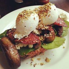 Dukkah Eggs, Bluebird Espresso, Carlton