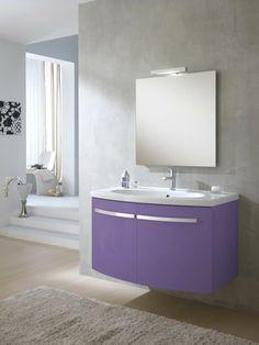 arredo bagno monica lilla