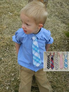 Toddler and infant ties