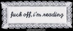 subversive cross stitch...I am so making this.
