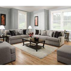 World Menagerie Elienor Modern Configurable Living Room Set