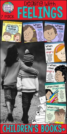 I always find it easier to teach with stories, don't you? These Feelings / Emotions children's books let the characters model the how-to's of dealing with tricky feelings, so we can (deceptively) teach and not preach! $