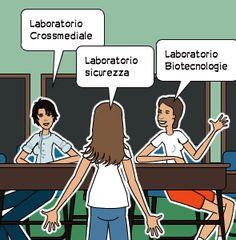 Laboratorio Crossmediale | Laboratorio sicurezza | Laboratorio Biotecnologie