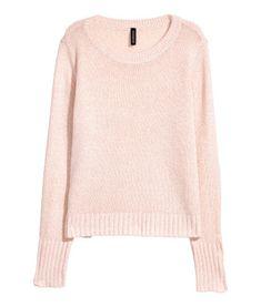 Sweater - powder pink, medium
