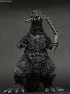 [Close] Godzilla (1954) The First Godzilla `Train in Mouth Ver.` (Completed) Item picture3