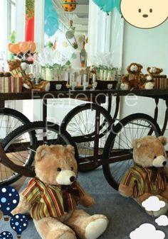 A sweet teddy bear party