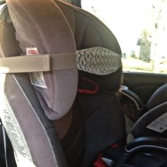 A dreamy car ride® can be a reality, when your babe takes a rest using the SlumberSling. This innovative car seat head rest was created by Ash & Alys Babes