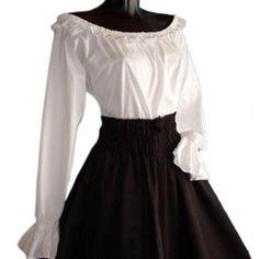 Medieval Peasant Gypsy Long Sleeved Blouse, White Elbenwald, http://www.amazon.co.uk/dp/B008OGXZRW/ref=cm_sw_r_pi_dp_F5kktb0M8G6QR