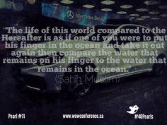 Words of Wisdom #40Pearls #Ramadan2013 #wowconference Pearl #11