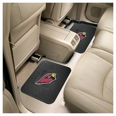 NFL Fan Mats 2 Utility Mats - Arizona Cardinals, Durable