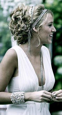 bride style like blake lively @Erin B B B Gephart
