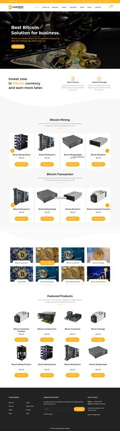 Cryptobite is an template for Cryptocurrency Bitcoin & Digital currency for Joomla template based on helix framework, using SP Drag and Drop Page Builder Pro 3, Layer Slider and J2store for ecommerce shop.   his template is suitable for bitcoin, blockchain, coin currency, crypto currency, currency, Currency Exchange, digital currency, exchange, exchange currency, litecoin, mining, responsive website but you can easily transform into different type of website.