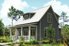 This is my dream home! Small, cozy, front porch, open concept, and a downstairs master!