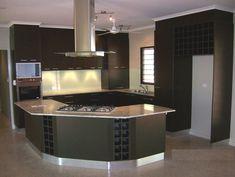 Amazing Kitchen Countertop Mixed Material Design Ideas