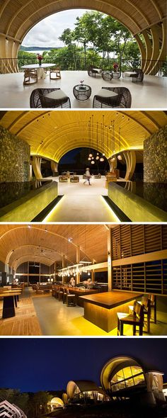 Zurich architect Arquitectos designed the Andaz Hotel in Costa - All For Garden Tropical Architecture, Architecture Design, Resort Villa, Great Hotel, Hotel Interiors, Beautiful Hotels, Building Design, Inspiration, House Styles